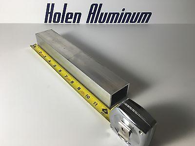 1.5 X 2 X 18 X 12 Length Aluminum Rectangular Tube 6063-t52