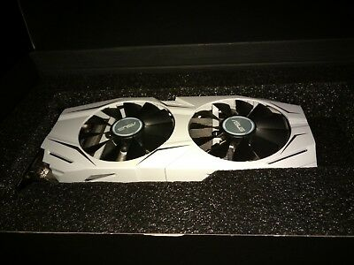 ASUS GeForce GTX 1060 3GB Dual-Fan OC Edition Graphics Card VR Ready