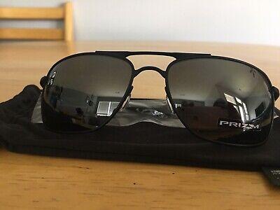 NEW Oakley sunglasses Gauge 8 L Matte Black / Prizm Black Polarized oo4124-0262