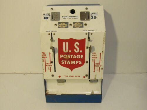 Vintage U.S. Postage Stamp Machine Metal Collectible Rare