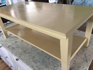 French vanilla coffee table-
