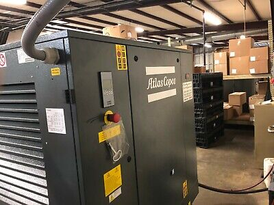 20 Hp Atlas Copco G15lff Rotary Screw Air Compressor