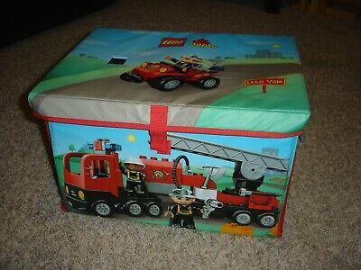 "Lego Duplo storage & play ZipBin toy box & playmat mat 16"" x 13"" x 10"""