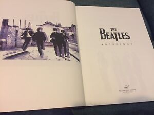 Extensive 360 page Beatles Anthology book