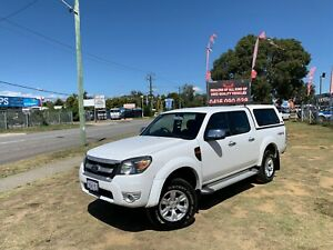 2010 FORD RANGER XLT (4x4) PK DUAL CAB P/UP 3.0L TURBO DIESEL MANUAL 36 MONTHS FREE WARRANTY Kenwick Gosnells Area Preview