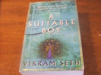 A Suitable Boy: The classic bestseller by Vikram Seth (Paperback, 1994) for sale  Lancaster