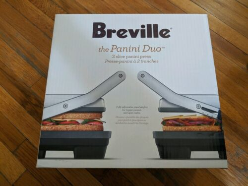 Brand New Breville BSG520XL Panini Duo 1500-Watt Nonstick Pa