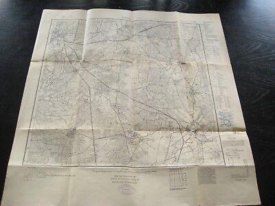 alte Landkarte Karte Messtischblatt Nr 1531 Soltau von 1926 Wietzendorf Meinholz