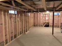 Basement Framing & Drywall Experts 6473309109