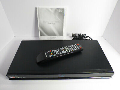 Samsung Blu-ray Disc Player BD-P1600 DVD With Remote HDMI Component USB Working