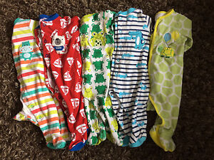 5 - 6 month Pekkle sleepers