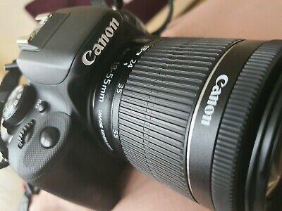 CANON EOS 100D CAMERA - BLACK