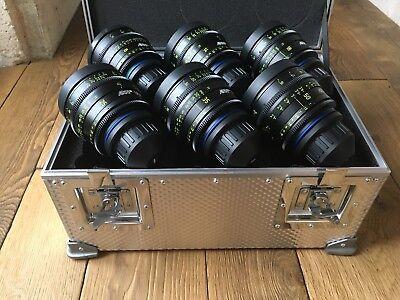 Arri Zeiss Ultra 16 Lens Set