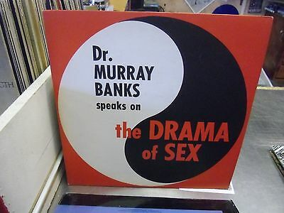 Dr  Murray Banks Speaks On The Drama Of Sex Vinyl Lp Private Press Vg