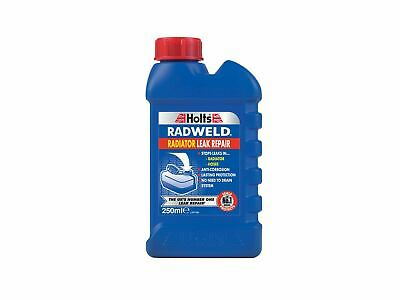 Holts Radweld Radiator Leak System Seal Repair Additive Anti Corrosion 250ml