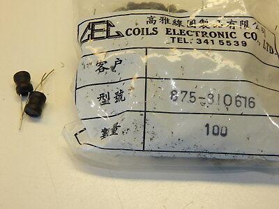 10 pieces Fixed Inductors INDCTR HI CUR WND 1007 47uH 10/%