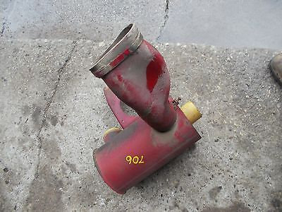 Farmall 706 Tractor Ih Ihc Air Filter Holder Cannister Mounting Bracket