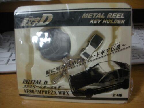 Initial D Metal Reel Key Holder AE86 Keychain used japan