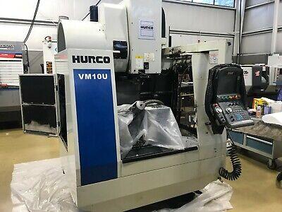 2012 Hurco Vm10u 5-axis