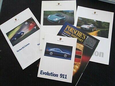 1999 Porsche 911 Carrera Catalog Prestige 996 Coupe & Cabriolet Sales Brochure