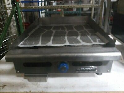 Used Imperial Itg-24 Commercial 24 Gas Thermostat Countertop Griddle