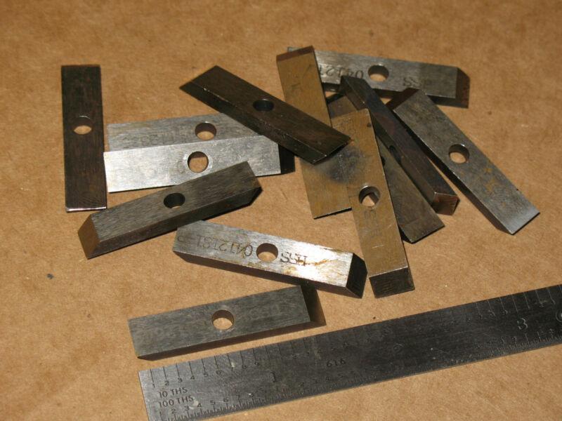 Qty8 8x High Speed Steel Lathe Cutting Tool Bits Bar HSS Apx 5/16 x1/8 x1 1/2in