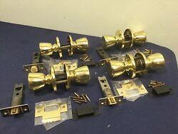 Kwikset Tylo Passage Function Knobsets, Set of 4 - Locksmith