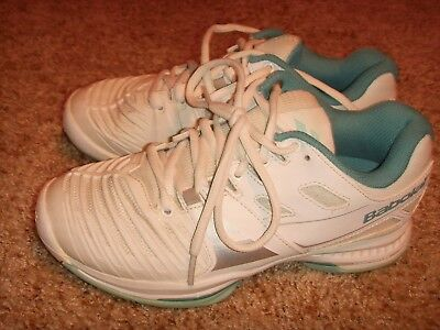 Babolat SFX All Court Men Tennis Shoes White Blue 30S17529153 New Free Shipping