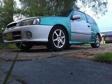 Toyota starlet glanza v Edgeworth Lake Macquarie Area Preview