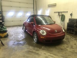 Vw bug convertible for sale!
