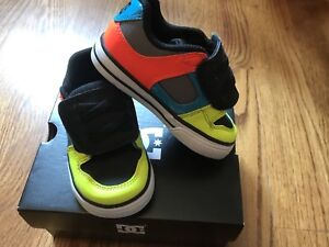 Baby DC Shoes Size 5