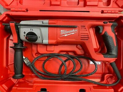 Milwaukee 5262-21 8 Amp Corded 1 Sds Plus Rotary Hammer In Case - New