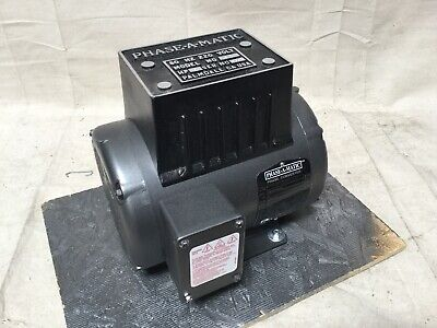Phase-a-matic R-2 2 Hp Phase Converter 208-240v Rotary