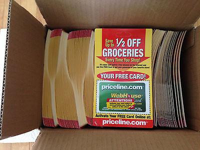 Priceline Com Grocery Cards 250 In Original Case