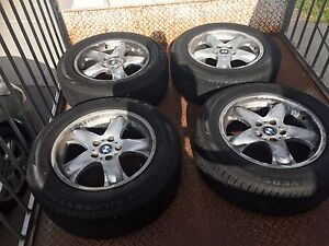 """BMW X5 18"""" wheels with mint tyres Craigieburn Hume Area Preview"""