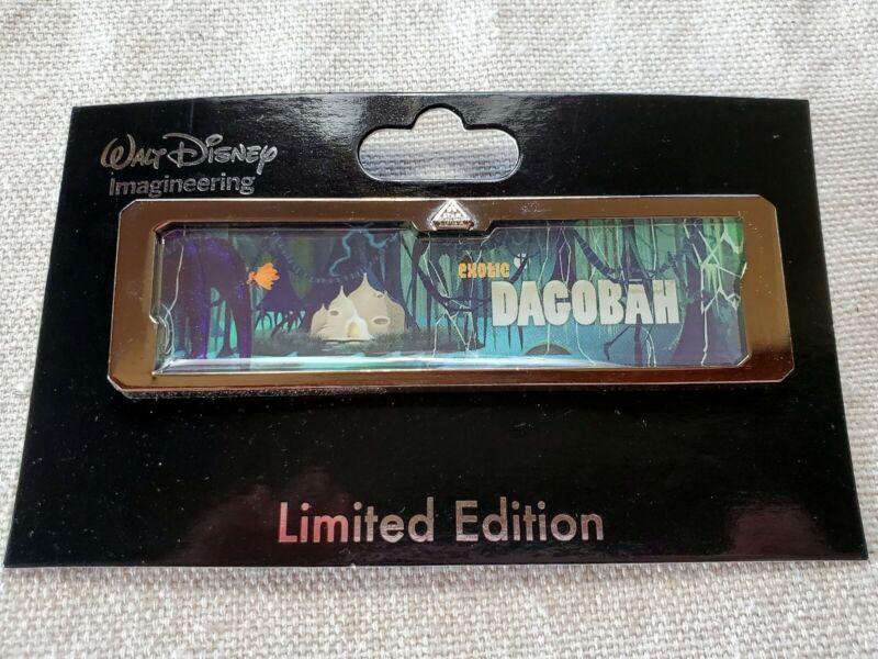Disney WDI D23 Pin LE 300 Star Tours Wars Destination Dagobah