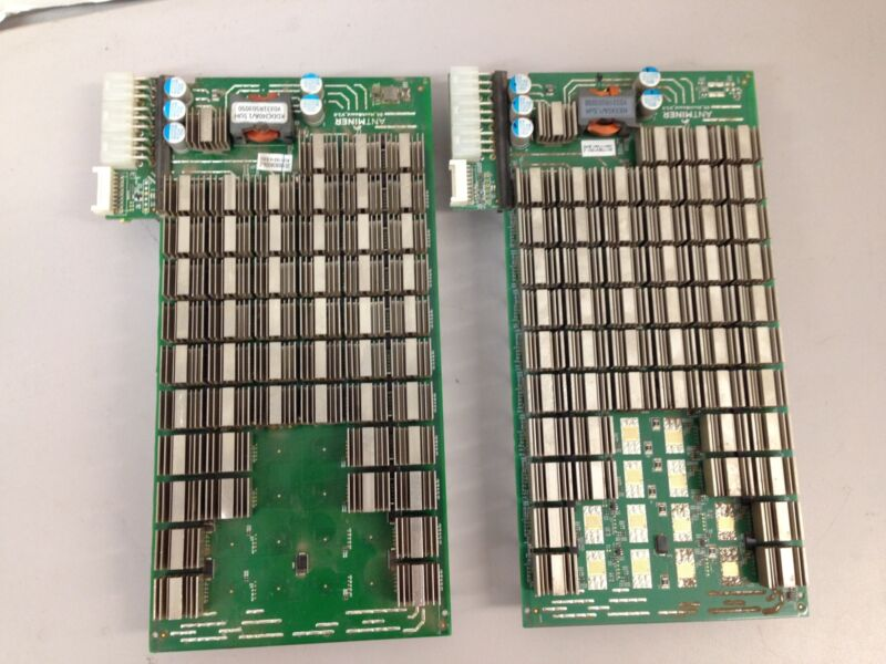 Antminer S9 Control Boards Bitcoin Mining (Lot of 2)