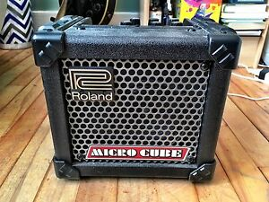 Roland Micro Cube and Instrument Cable
