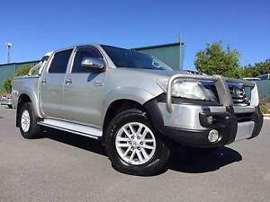 2012 Toyota Hilux Ute SR5 4X4 AUTOMATIC TURBO DIESEL Arundel Gold Coast City Preview