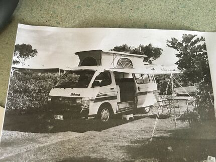Great Condition Toyota Camper Van