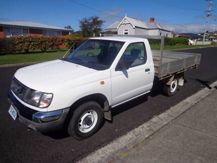 2000 Nissan Navara 4X2 Flat Tray Ute Ulverstone Central Coast Preview
