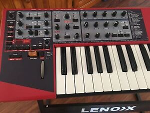Nord lead 2x synthesiser keys Woodburn Richmond Valley Preview