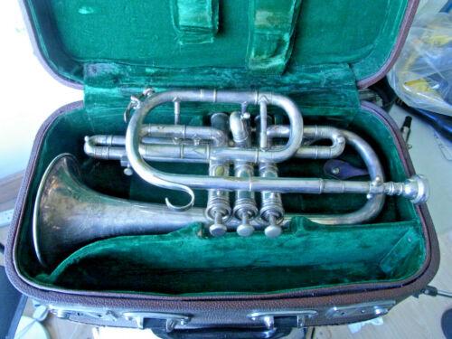 Boosey & Co Class A Light valve Cornet Antique serial no.90019 (1914)