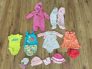 Newborn girl lot
