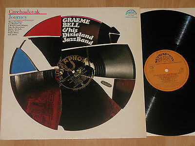 LP GREAME BELL & HIS DIXIELAND JAZZBAND - CZECHOSLOVAK JOURNEY
