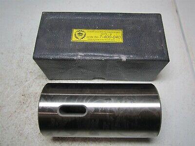 Tmx 7-400-040 8 Mt2 4 Oal Straight Shank Hardened Solid Socket