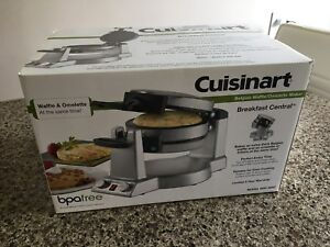 Cuisinart Breakfast Central waffle and omelette maker