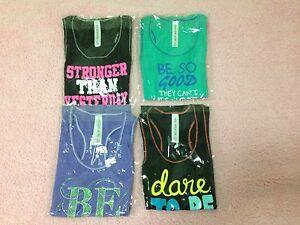 BN-Lorna-Jane-Gym-Tank-Top-Singlet-Sport-Ladies-Women-Size-XS-S-M-L