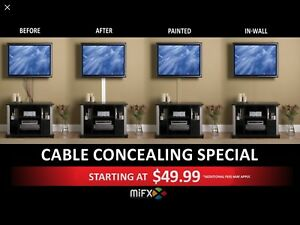 Hiding Cables and other Services