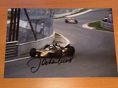 Jochen Mass Formel 1 F1 Sport Star Autogramm Autograph Handsigniert 20x30 Foto